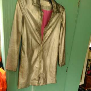 Silver Trelise Cooper Jacket With Pink Silk Lining