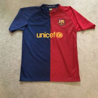 Barcelona Messi Soccer Top