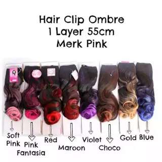 Hairclip Ombre By Pinkwig