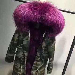 狐狸毛外套