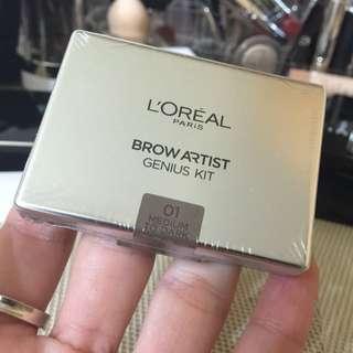 Loreal 萊雅眉彩盒 眉膠 眉粉
