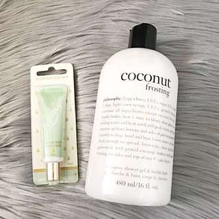 Philosophy Coconut Frosting & Lanolips Ointment