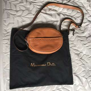 Massimo Dutti Brown Bag