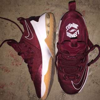 Lebron 13s Maroon Low