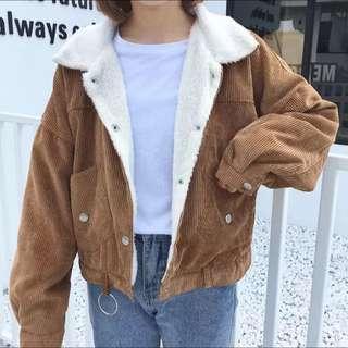 秋冬韓版女裝百搭寬鬆加厚外套