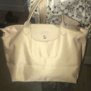 Price Drop! Longchamps Limited Edition Nude Bag