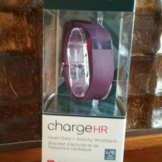 Fitbit Charge HR + FREE Extra Charging Cable