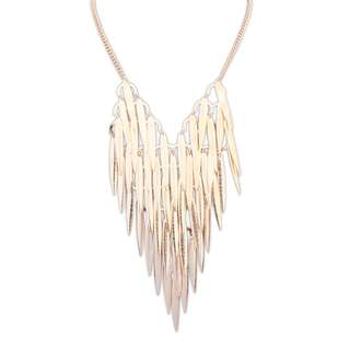 [SALE! | UP TO 70% OFF!] [BN] Senns - Feather Gold Toned Necklace