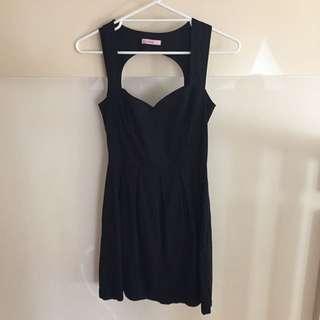 SUPRE Black Dress