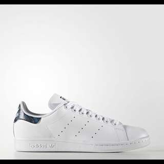 Adidas Blue Geology Stan Smith 藍條紋