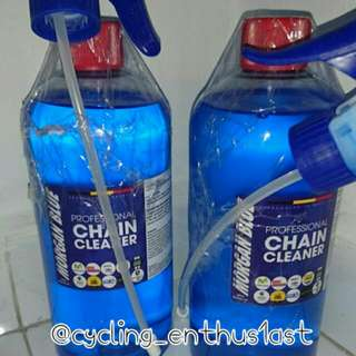 NO STOCK! - Morgan Blue Chain Cleaner 1litre Volume With Spray Cap!
