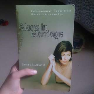 Alone In Marriage  Susie Larson