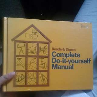 Reader's Digest  Complete Do It Yourself Manual