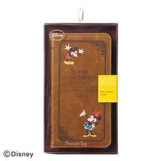Soft leather cover (Disney) for iPhone 6 / 7