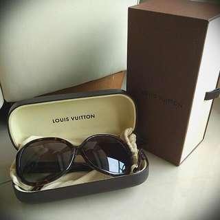 LV琥珀太陽眼鏡(附收納盒)