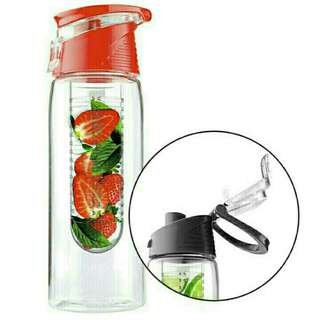 Tritan Water And Fruit Infuser Bottle