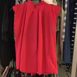 Small Size Red Top