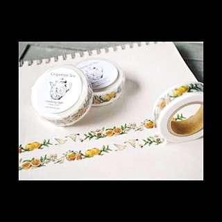 Littlebdays-白柚子茶-紙膠帶分裝