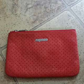 Mimco Red Vintage Pouch
