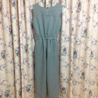 Houndstooth Jumpsuit