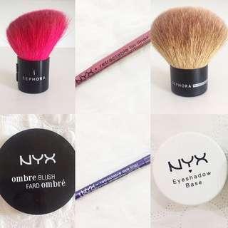 Sephora Brush & NYX Makeup 😍