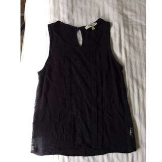 Black Miss Shop singlet top
