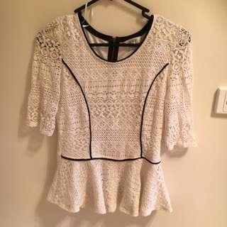 Ladies size 10 Dress Top