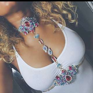 Crystal Body Chain Harness Pre Order!!