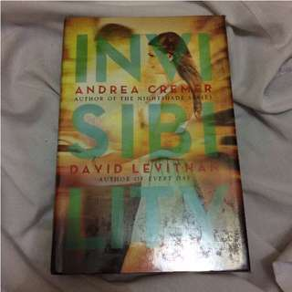 Invisibility by Andrea Cremer & David Levithan (HB)