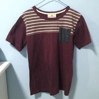 L Size Maroon T-Shirt