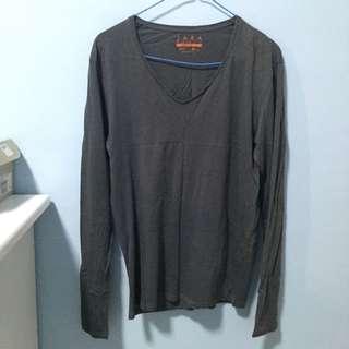Zara M Size Comfy Long Sleeve Shirt