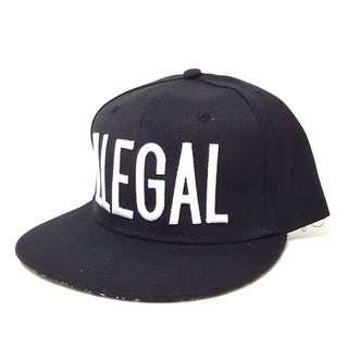 INSTOCK Illegal Snapback Cap