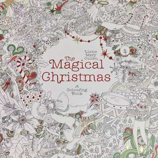 BRAND NEW Magical Christmas Colouring Book