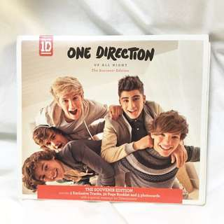 One Direction Up All Night Souvenir Edition