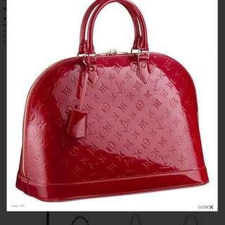 Beautiful New Red Bag