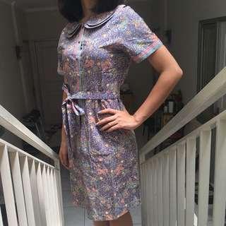 Original Batik Keris Dress