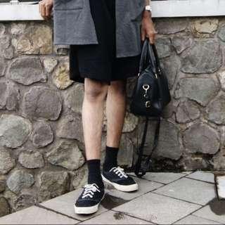 Black Sneakers by Lazada