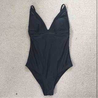 Miss Shop Black One Piece Sz 8 Swimsuit