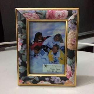 Floral Design Photo Frame