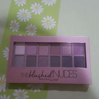the blush nudes maybelline