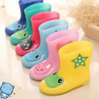 👑(預購)兒童防滑雨靴