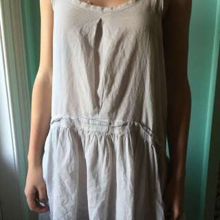 Grey Beach Dress