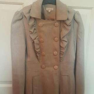LOVELY ladies Coat (Sz M/8-10)