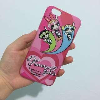 二手✌🏽️飛天小女警 iPhone6/6s 粉紅 手機殼 軟殼 日本 日系