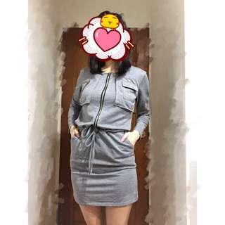 ✨棉質縮腰洋裝✨