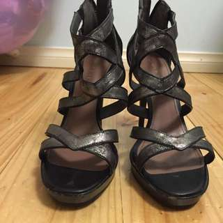 Charles and Keith Gladiator Stiletto Size 40