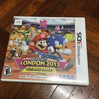 Mario & Sonic Olympic 3DS