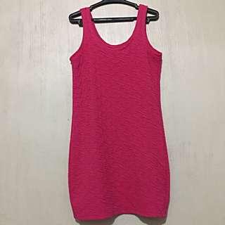 Cute Pink BodyCon Dress