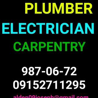 JOSEPH PLUMBING ELECTRICIAN CARPENTRY DECLOGGING SERVICES