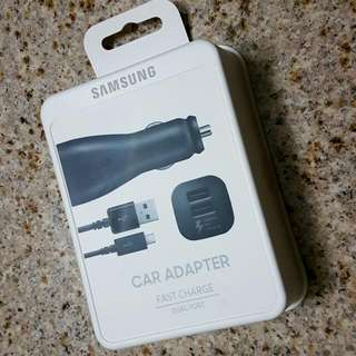 Samsung Car Adapter Dual Port Fast Charge